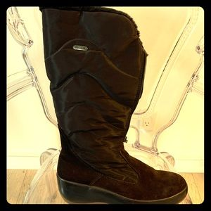 Pajar Chocolate Brown Boots Size 40 9-9.5